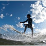Surfer, Nicoya Peninsula, Costa