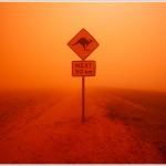 Outback Dust Storm, Australia