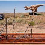 Dinosaur Sculptures on Route 66, Holbrook, Arizona