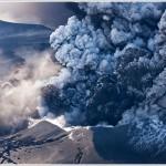 Eyjafjallajˆkull Volcano Eruption,  Hvolsvelli, Iceland