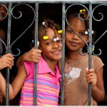 Portrait of Young Girls, Santo Domingo, Dominican Republic