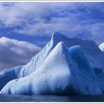 Blue Iceberg near South Shetland Islands, Antarctica