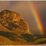 Rainbow, Glaciares National Park, Argentina